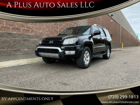 2005 Toyota 4Runner for sale at A Plus Auto Sales LLC in Denver CO