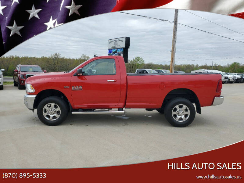 2016 RAM Ram Pickup 2500 for sale at Hills Auto Sales in Salem AR