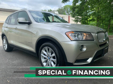 2013 BMW X3 for sale at AUTO TRADE CORP in Nanuet NY