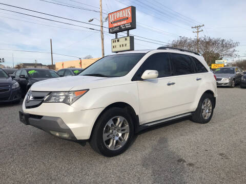 2008 Acura MDX for sale at Autohaus of Greensboro in Greensboro NC
