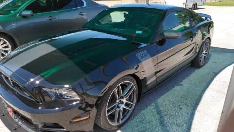 2013 Ford Mustang for sale at Haigler Motors Inc in Tyler TX