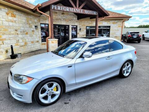 2011 BMW 1 Series for sale at Performance Motors Killeen Second Chance in Killeen TX