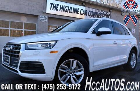 2020 Audi Q5 for sale at The Highline Car Connection in Waterbury CT