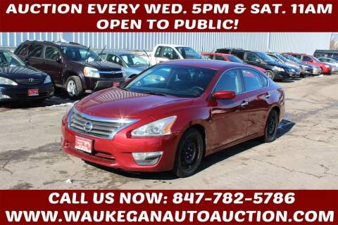 2015 Nissan Altima for sale at Waukegan Auto Auction in Waukegan IL