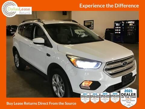 2019 Ford Escape for sale at Dallas Auto Finance in Dallas TX