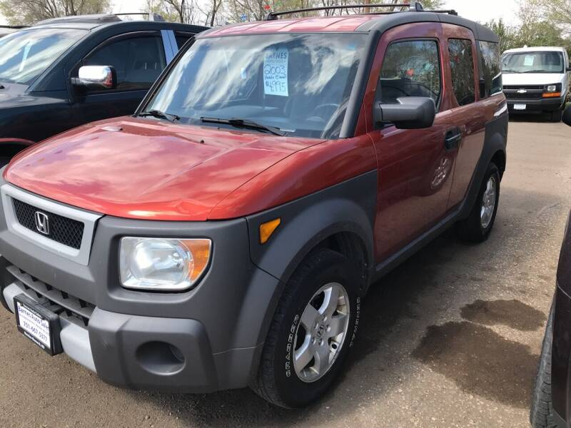 2003 Honda Element for sale at BARNES AUTO SALES in Mandan ND