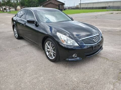 2012 Infiniti G37 Sedan for sale at MOTORSPORTS IMPORTS in Houston TX