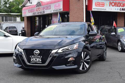 2020 Nissan Altima for sale at Foreign Auto Imports in Irvington NJ