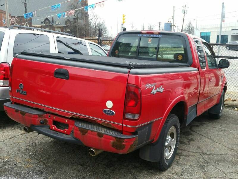 2001 Ford F-150 for sale at 216 Automotive Group in Cleveland OH