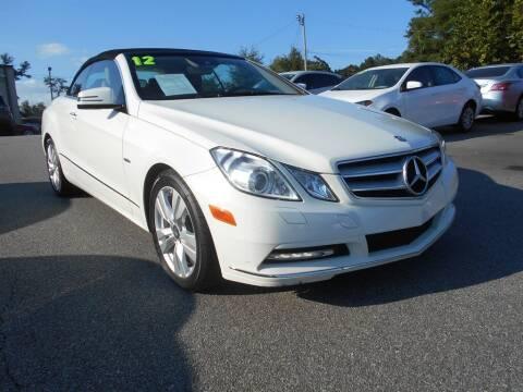 2012 Mercedes-Benz E-Class for sale at AutoStar Norcross in Norcross GA