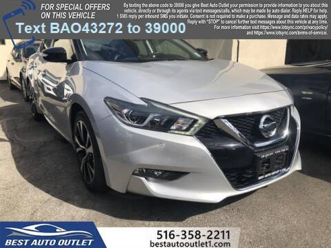 2018 Nissan Maxima for sale at Best Auto Outlet in Floral Park NY