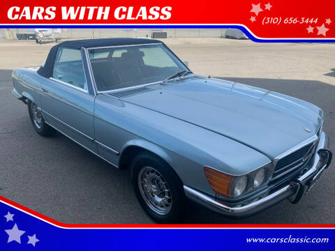1972 Mercedes-Benz SL-Class for sale at CARS WITH CLASS in Santa Monica CA