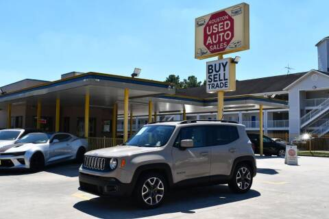 2015 Jeep Renegade for sale at Houston Used Auto Sales in Houston TX
