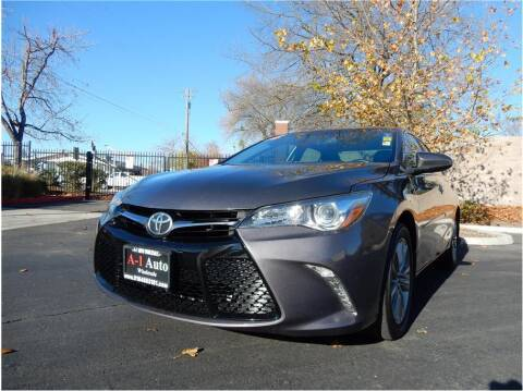 2016 Toyota Camry for sale at A-1 Auto Wholesale in Sacramento CA