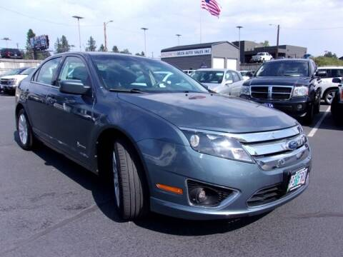 2012 Ford Fusion Hybrid for sale at Delta Auto Sales in Milwaukie OR