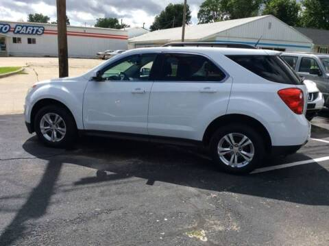 2012 Chevrolet Equinox for sale at BISHOP MOTORS inc. in Mount Carmel IL