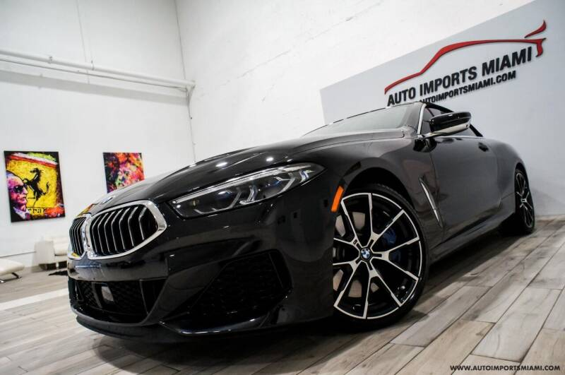 2019 BMW 8 Series for sale at AUTO IMPORTS MIAMI in Fort Lauderdale FL