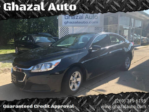 2015 Chevrolet Malibu for sale at Ghazal Auto in Sturgis MI