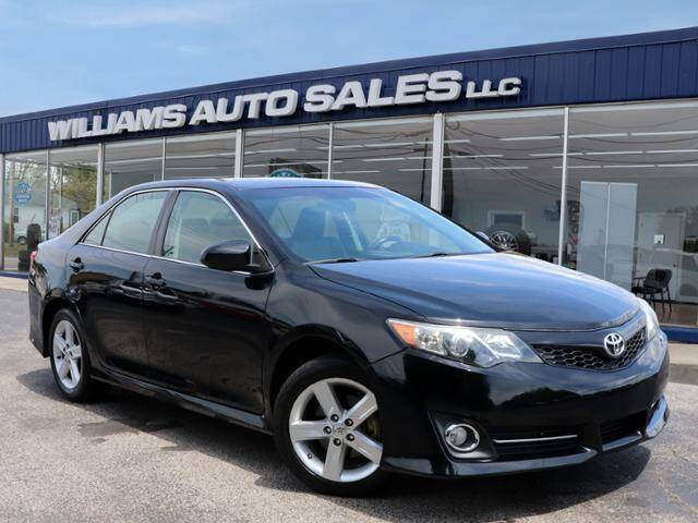 2014 Toyota Camry for sale at Williams Auto Sales, LLC in Cookeville TN