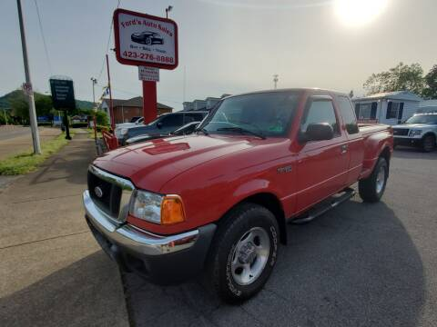 2004 Ford Ranger for sale at Ford's Auto Sales in Kingsport TN