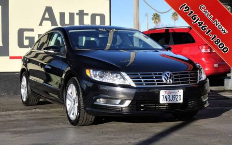 2016 Volkswagen CC for sale at H1 Auto Group in Sacramento CA