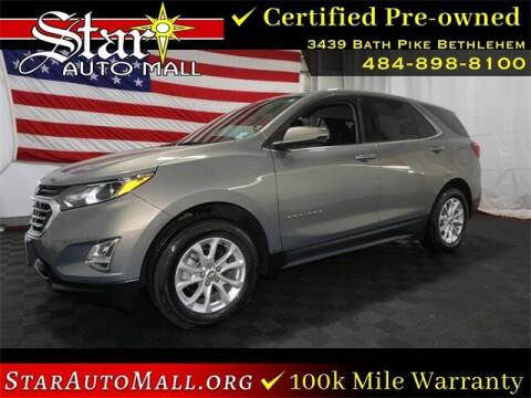 2018 Chevrolet Equinox for sale at STAR AUTO MALL 512 in Bethlehem PA