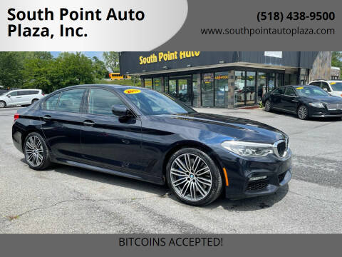 2017 BMW 5 Series for sale at South Point Auto Plaza, Inc. in Albany NY