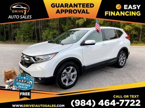 2019 Honda CR-V for sale at Drive 1 Auto Sales in Wake Forest NC