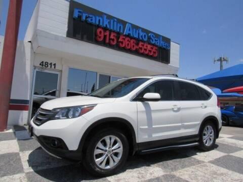 2014 Honda CR-V for sale at Franklin Auto Sales in El Paso TX