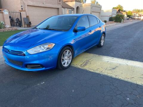 2015 Dodge Dart for sale at EV Auto Sales LLC in Sun City AZ