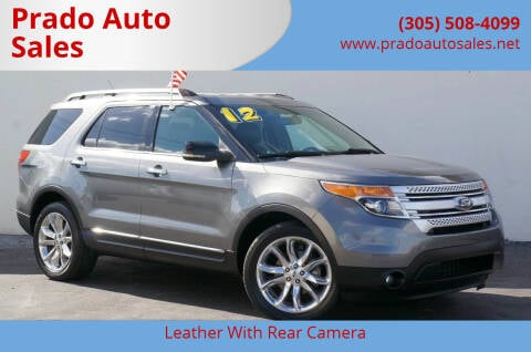 2012 Ford Explorer for sale at Prado Auto Sales in Miami FL