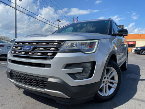 2017 Ford Explorer for sale at LATINOS MOTOR OF ORLANDO in Orlando FL
