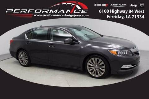 2017 Acura RLX for sale at Auto Group South - Performance Dodge Chrysler Jeep in Ferriday LA