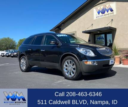 2012 Buick Enclave for sale at Western Mountain Bus & Auto Sales in Nampa ID