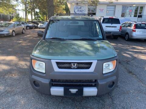 2004 Honda Element for sale at MEEK MOTORS in North Chesterfield VA