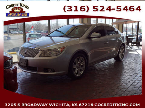 2012 Buick LaCrosse for sale at Credit King Auto Sales in Wichita KS
