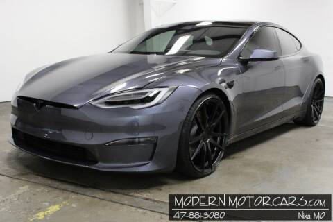 2021 Tesla Model S for sale at Modern Motorcars in Nixa MO
