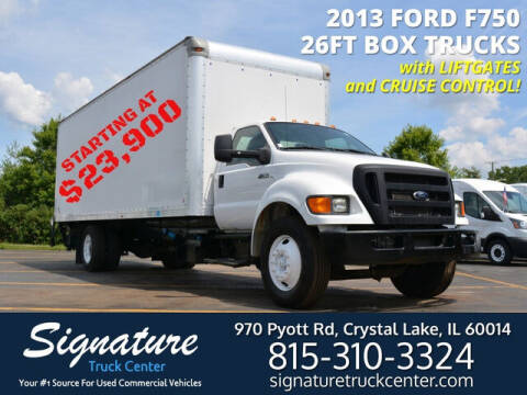 2013 Ford F-750 for sale at Signature Truck Center in Crystal Lake IL