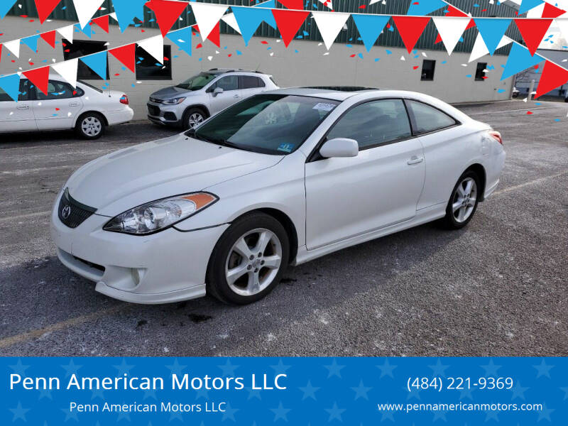 2004 Toyota Camry Solara for sale at Penn American Motors LLC in Allentown PA