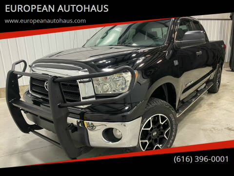 2008 Toyota Tundra for sale at EUROPEAN AUTOHAUS in Holland MI