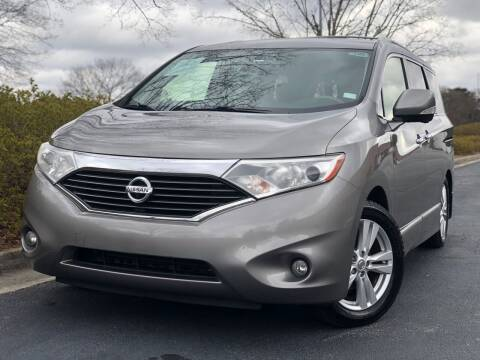 2013 Nissan Quest for sale at William D Auto Sales in Norcross GA