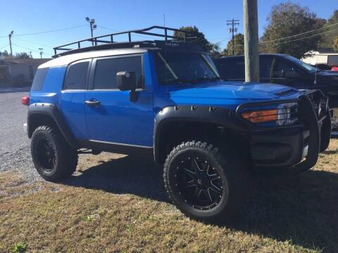 2008 Toyota FJ Cruiser for sale at Wholesale Auto Inc in Athens TN