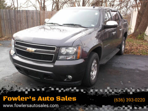 2010 Chevrolet Avalanche for sale at Fowler's Auto Sales in Pacific MO