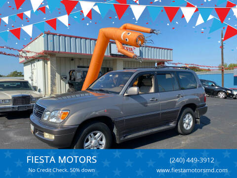 1999 Lexus LX 470 for sale at FIESTA MOTORS in Hagerstown MD