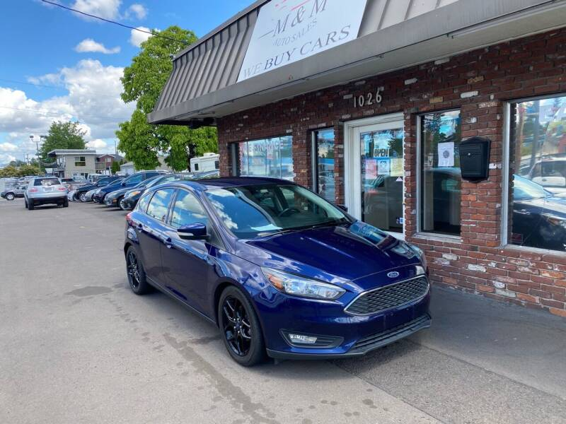 2016 Ford Focus for sale at M&M Auto Sales in Portland OR