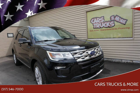 2018 Ford Explorer for sale at Cars Trucks & More in Howell MI