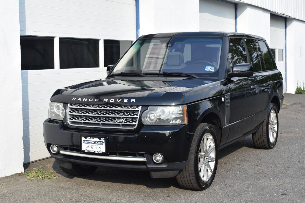 2010 Land Rover Range Rover Supercharged 4×4 4dr SUV full