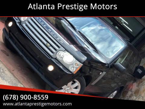 2008 Land Rover Range Rover for sale at Atlanta Prestige Motors in Decatur GA