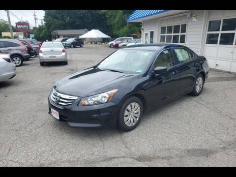 2012 Honda Accord for sale at Colonial Motors in Mine Hill NJ