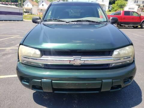 2003 Chevrolet TrailBlazer for sale at KANE AUTO SALES in Greensburg PA